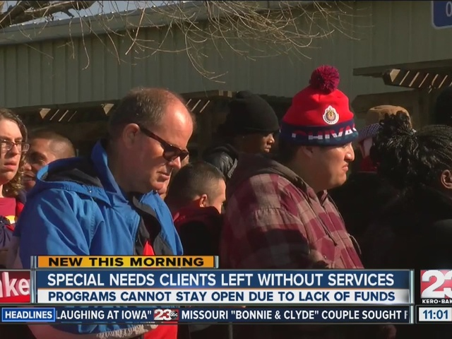 Special needs clients left without services