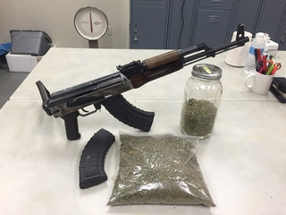 KCSO finds AK-47, drugs inside Arvin home