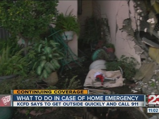 KCFD: Be cautious when home emergency arises