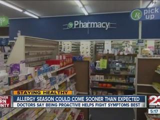 Being proactive fights allergies best