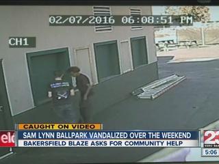 1 suspect caught in Bakersfield Blaze vandalism