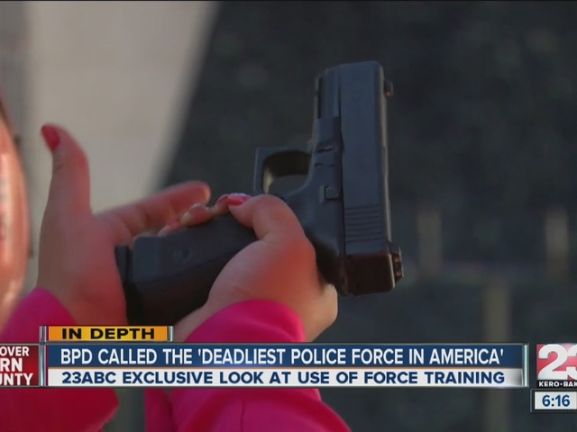 Training with the BPD: the 'Deadliest Police Force in America'