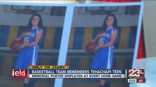 Tehachapi basketball team pays tribute to teen