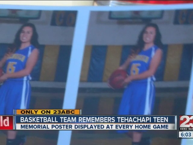 Basketball team remembers Tehachapi teen killed in hit and run
