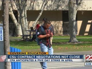 Faculty, CSU system far apart on negotiations