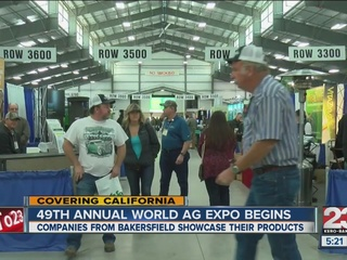The World Ag Expo is underway