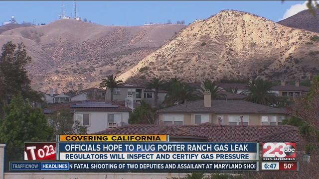 California gas leak under control