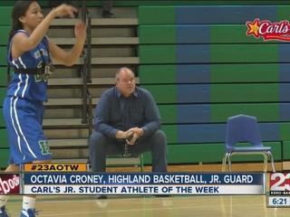 Female Athlete of the Week: Octavia Croney