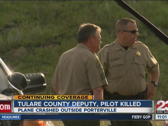 Tulare County Deputy, Pilot killed