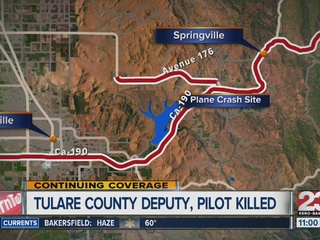Two people killed in plane crash in Tulare Co.