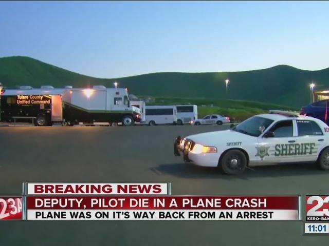 Tulare County Sheriff deputy, pilot killed in plane crash in Springville