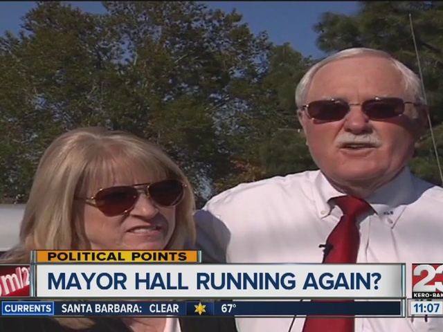Mayor Hall running for re-election?