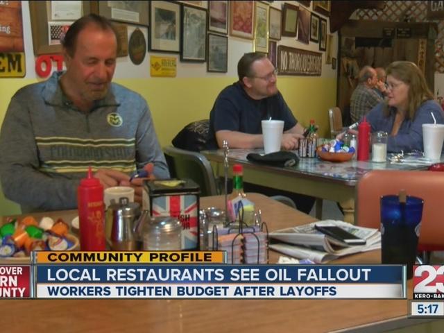 Oil Workers feel slump