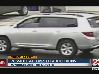 Details of possible abduction attempt released