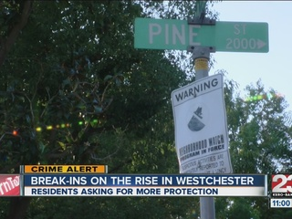 Westchester seeing a rise in break-ins