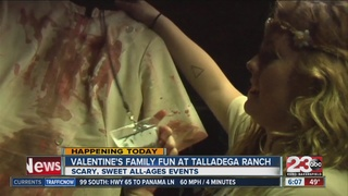 Valentine's Family fun at Talladega Ranch
