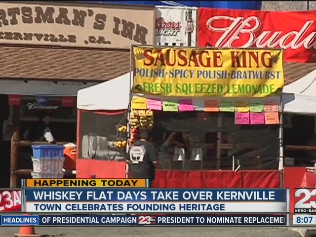 Whiskey Flat Days take over Kernville