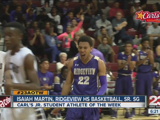 Male Athlete of the Week: Isaiah Martin