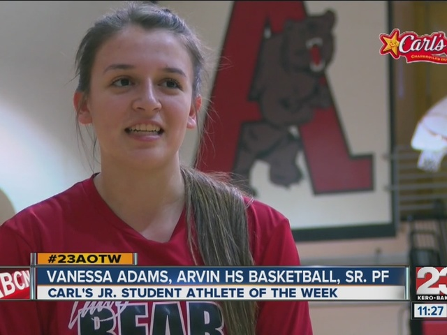 Female Athlete of the Week: Vanessa Adams