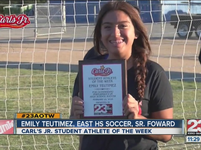 Female Athlete of the Week: Emily Teutimez