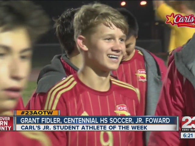 Male Athlete of the Week: Grant Fidler