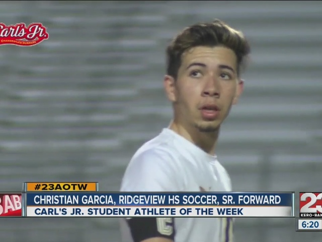 Male Athlete of the Week: Christian Garcia