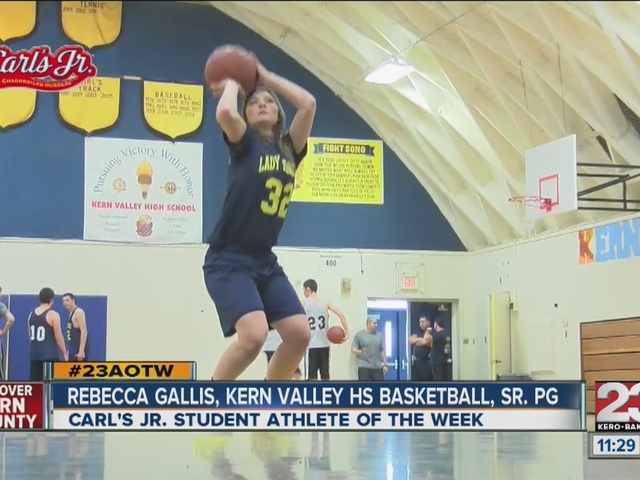 Female Athlete of the Week: Rebecca Gallis