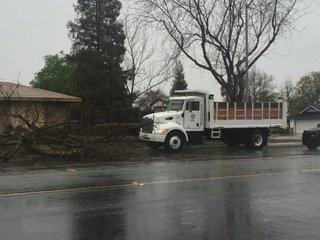 PHOTOS: Rain, wind arrive in Kern County