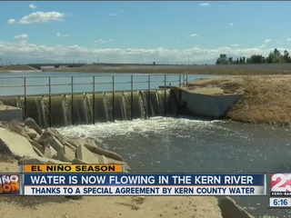 Water returns to the Kern River