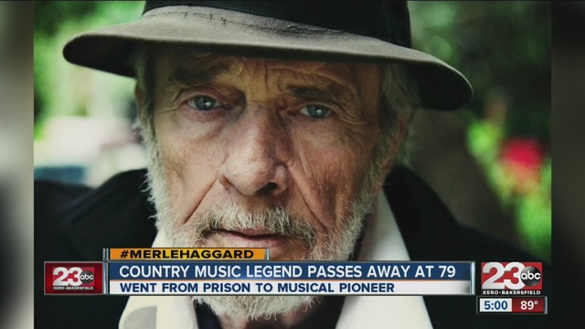 country music legend and oildale native merle haggard has passed away on his birthday he was 79