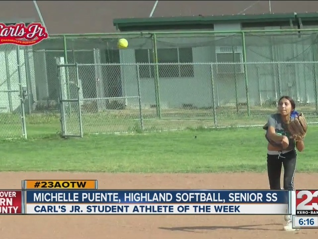 Female Athlete of the Week: Michelle Puente