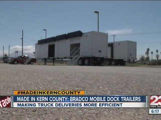 Made in Kern County: Bradco Mobile Dock Trailers
