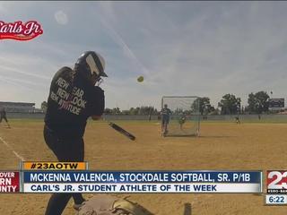 Female Athlete of the Week: McKenna Valencia