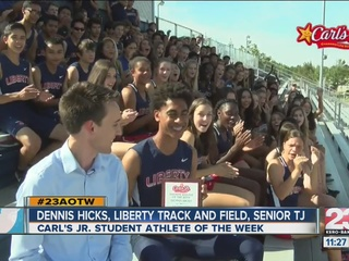 Male Athlete of the Week: Dennis Hicks