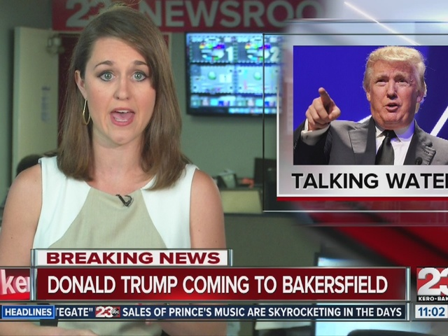 Donald Trump coming to Bakersfield