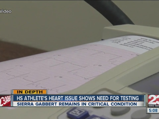 Teen's heart attack inspires heart testing for young athletes