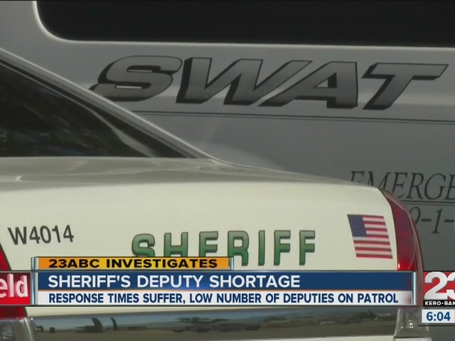 Number of KCSO deputies down from recent years