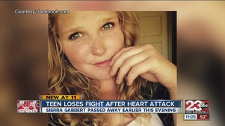 Teen loses fight after heart issues