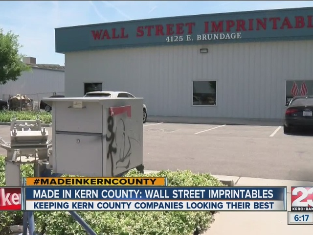 Made in Kern County: Wall Street Imprintables