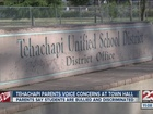 Parents voice concerns about Tehachapi Unified