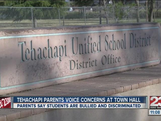 Parents voice concerns about Tehachapi Unified School District