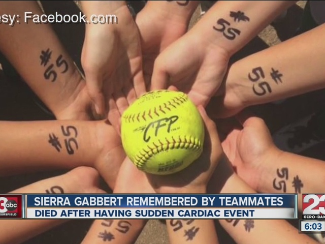Softball teammates remember West High player after passing