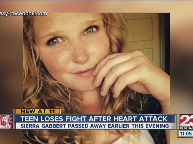 Teen loses fight after heart attack