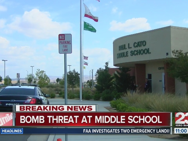 Bomb threat at Cato Middle School