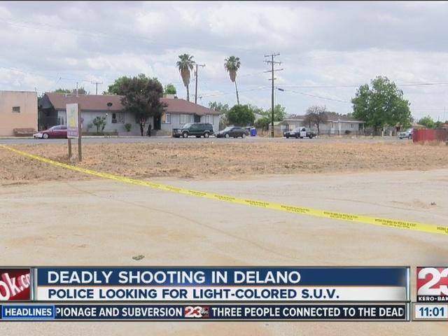 Deadly shooting in Delano