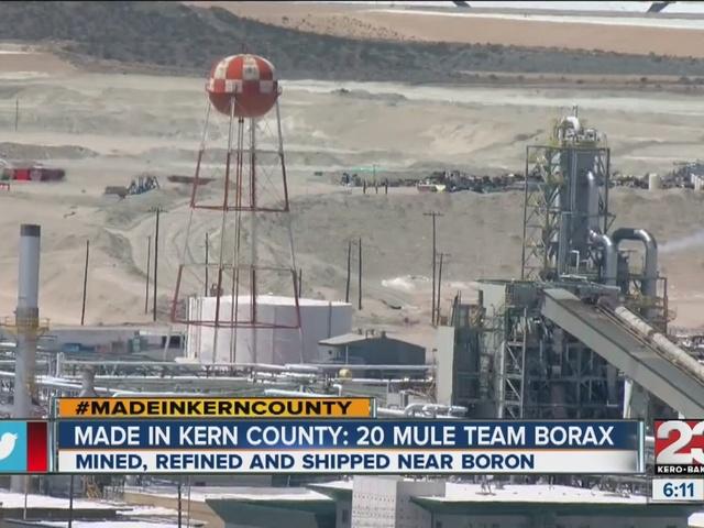Made In Kern County: Borax Mine