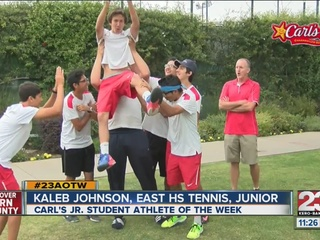 Male Athlete of the Week: Kaleb Johnson
