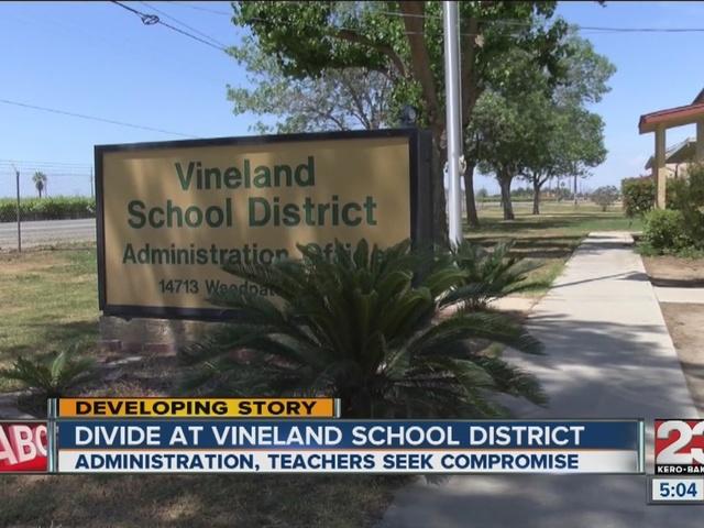Teachers threaten to leave Vineland School District