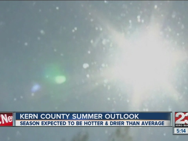 This summer predicted to be hotter and drier than average