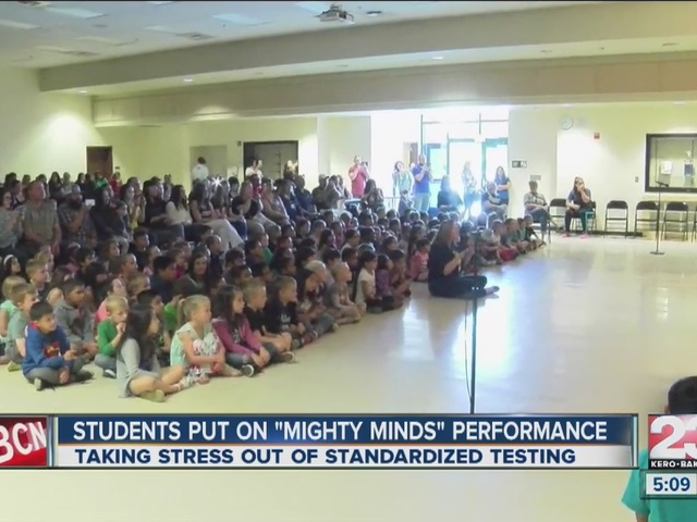 Creative teachers pump up students for standardized testing
